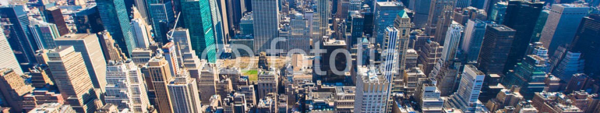 66573182 – Russian Federation – New York City Manhattan panorama aerial view with skyline at