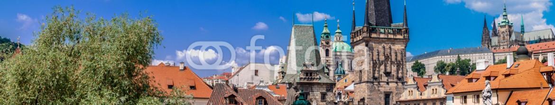 66766983 – Ukraine – Karlov or charles bridge in Prague in summer
