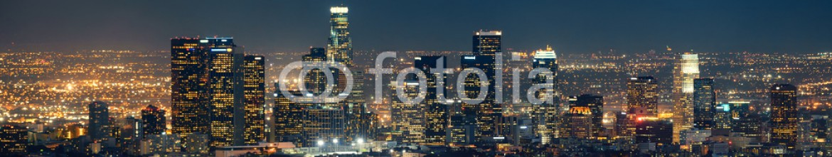 67338876 – United States of America – Los Angeles at night
