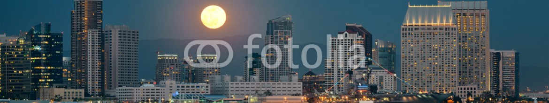 67339321 – United States of America – San Diego downtown skyline