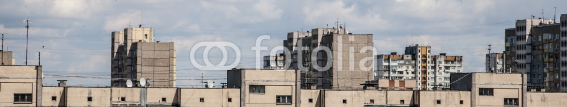 67496819 – Ukraine – View from rooftop of residential community