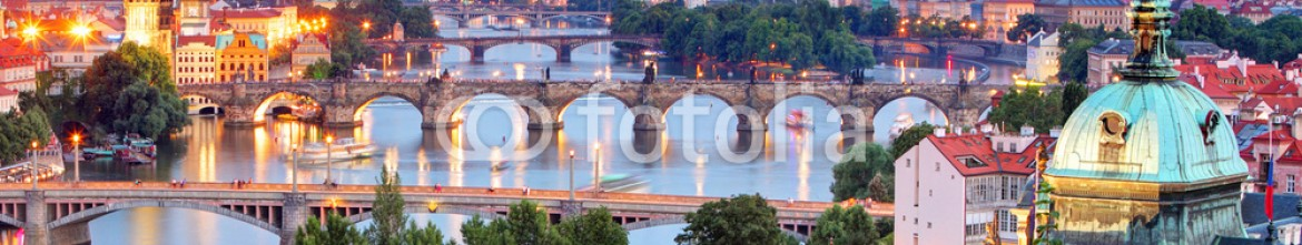 67727550 – Czech Republic – Prague cityscape at twilight