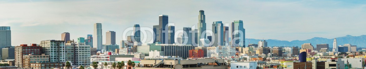 67837887 – United States of America – Los Angeles cityscape panorama