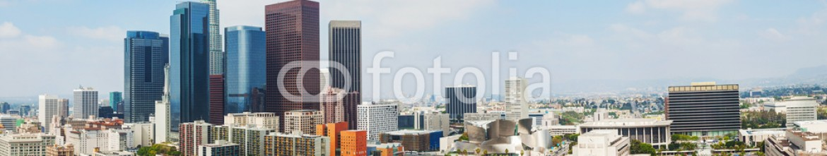67837991 – United States of America – Los Angeles cityscape panorama