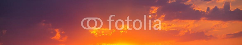 68896125 – Bulgaria – Beautiful cloudscape and sun, sunrise shot