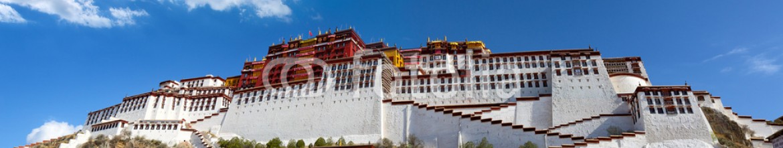 68966502 – China – Potala palace panorama in Lhasa, Tibet