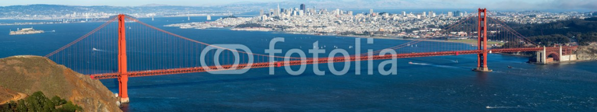 69057045 – United States of America – Golden Gate with San Francisco city view