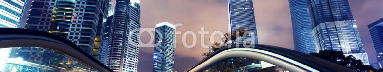 69069282 – China – Shanghai city. Nights Pudong