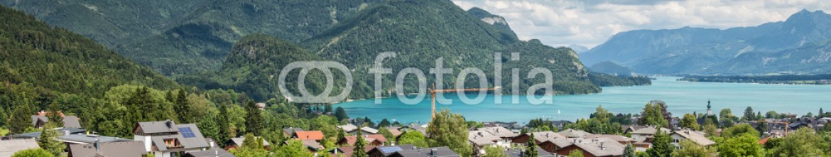 69316115 – United Kingdom of Great Britain and Northern Ireland – St Gilgen village at Wolfgangsee in Austria