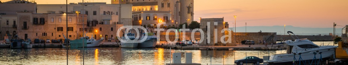 69569780 – Italy – Trani, sunset view with the Cathedral