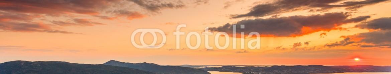 69645160 – Poland – Cityspace of Bergen, panoramic view