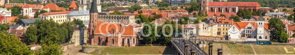 69780181 – Lithuania – Summer view of Kaunas – Lithuania