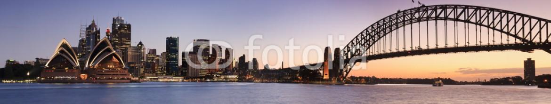 69805273 – Australia – Sydney CBD from Kirribilli Set Panor