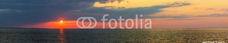 69967462 – Canada – Sunset panorama over Atlantic ocean