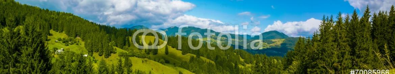 70085966 – Ukraine – Mountain panorama of the Ukrainian Carpathians