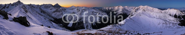 70127960 – Slovakia – Winter mountain in Poland, Kasprowy