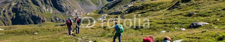 70368590 – Italy – trekking in alta montagna