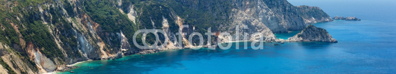 70564410 – Ukraine – Petani Beach panorama (Kefalonia, Greece)