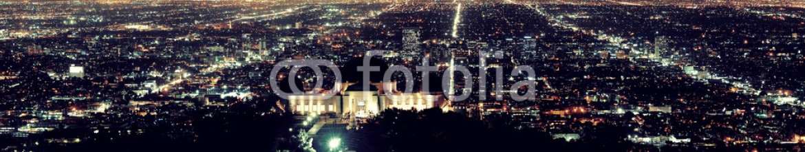 70678210 – United States of America – Los Angeles at night