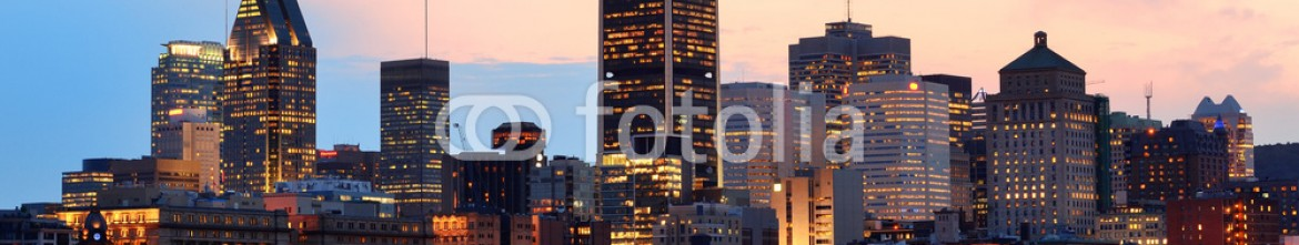 70688583 – United States of America – Montreal over river at sunset