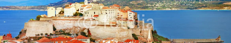 71034176 – Ukraine – panoramic view of Calvi , Corsica
