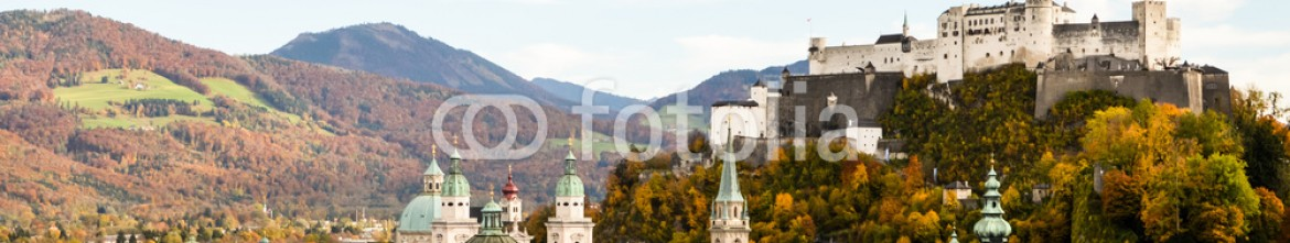 71071278 – Austria – The Fortress and The old town of Salzburg