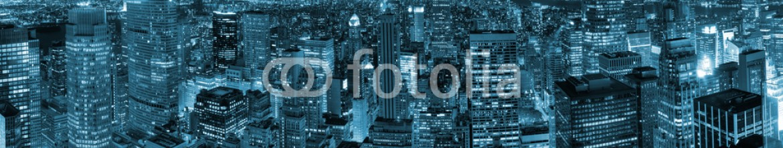 71808089 – United States of America – New York City night view