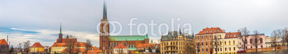 71970874 – Ukraine – Wroclaw old city panorama