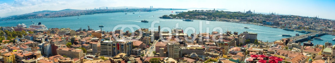 71972547 – Ukraine – Istanbul panoramic view from Galata tower. Turkey