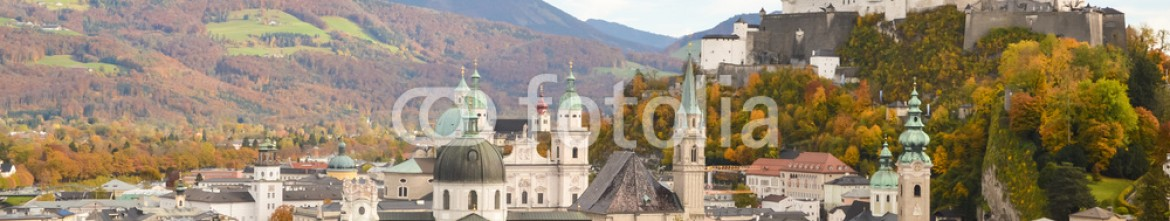 72125404 – Austria – The Fortress and The old town of Salzburg