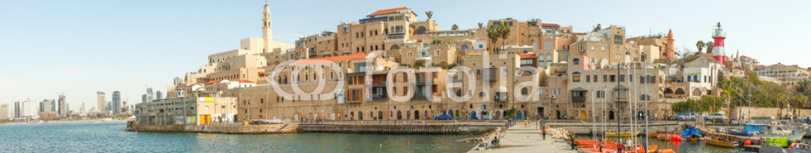 72550067 – Israel – View of Jaffa with Tel Aviv in the background