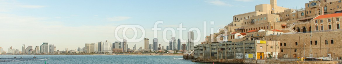 72550357 – Israel – View of Jaffa with Tel Aviv in the background