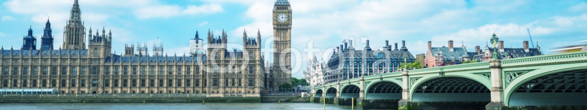 73226550 – United States of America – Thames river and Westminster bridge on a beautiful London sunny