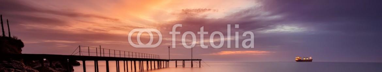 73352732 – Bulgaria – A stunning sea sunrise at The Black Sea coast