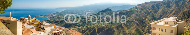 73528442 – Russian Federation – Taormina panorama