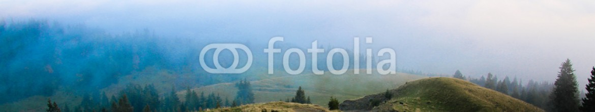 73650841 – Romania – Flock of sheep on top of the mountain, high altitude landscape