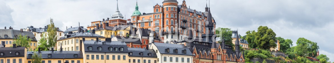 73785928 – Ukraine – Ppanorama of the Old Town  in Stockholm, Sweden