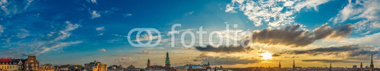 73785941 – Ukraine – Scenic summer night panorama of  Stockholm, Sweden