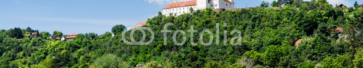 73932786 – Hungary – View to the benedictine abbey in Tihany, Hungary