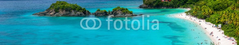 73972636 – Finland – Trunk bay on St John island, US Virgin Islands