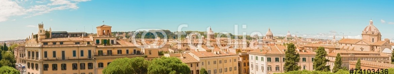 74103436 – Italy – Panorama of Rome, Italy