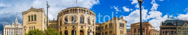 74184423 – Ukraine – Norwegian Parliament building in Oslo