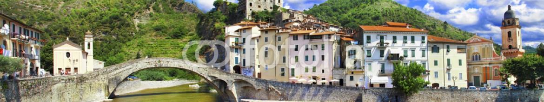 74341454 – Ukraine – medieval villages of Italy-  Dolceacqua, Liguria