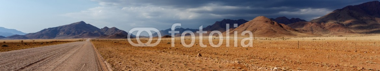 74466472 – Namibia – panorama of fantrastic Namibia moonscape landscape