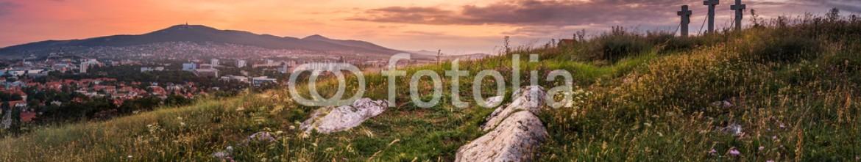 74507742 – Slovakia – Sunset over Calvary