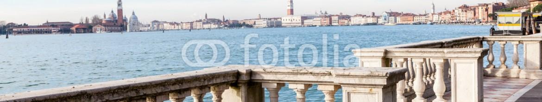 74517696 – Italy – Vista su piazza San Marco dall'Arsenale. Venezia,Italia