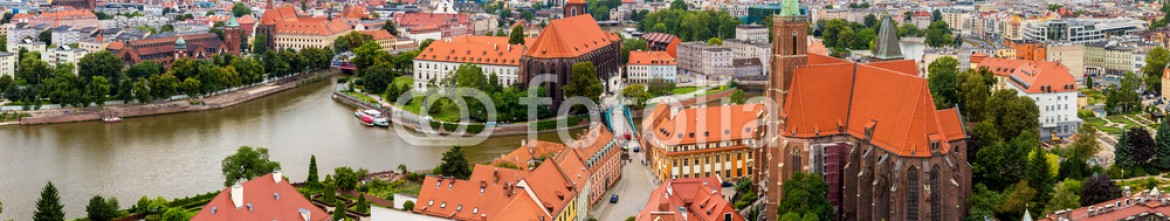 74775911 – Ukraine – Aerial view of Wroclaw