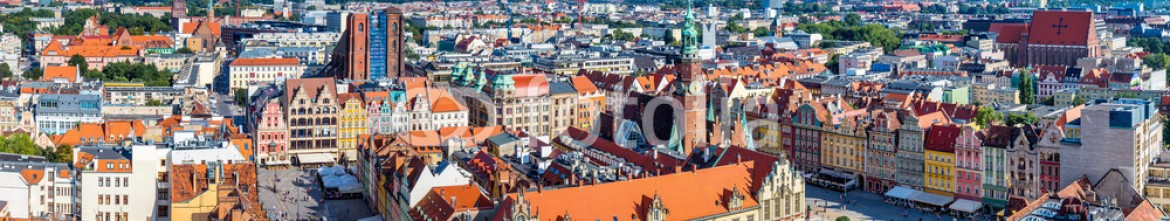 74775931 – Ukraine – Market Square in Wroclaw