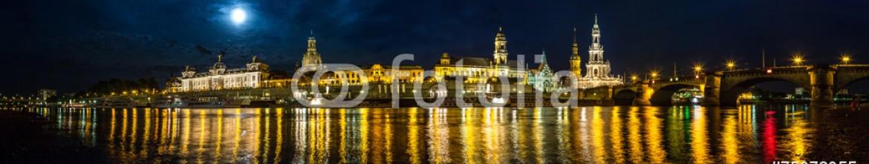 75072355 – Ukraine – Dresden in night