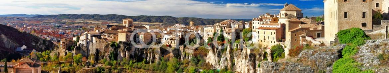 75286219 – Ukraine – Medeival town on rocks Cuenca, Spain. panorama